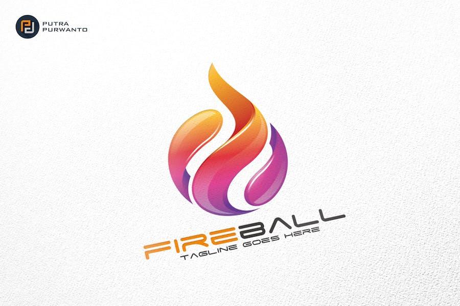 Fireball / Fire / Logo Template