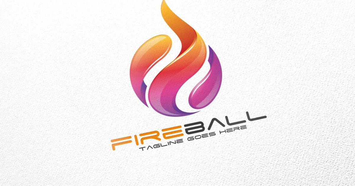 Fireball / Fire / Logo Template by putra_purwanto