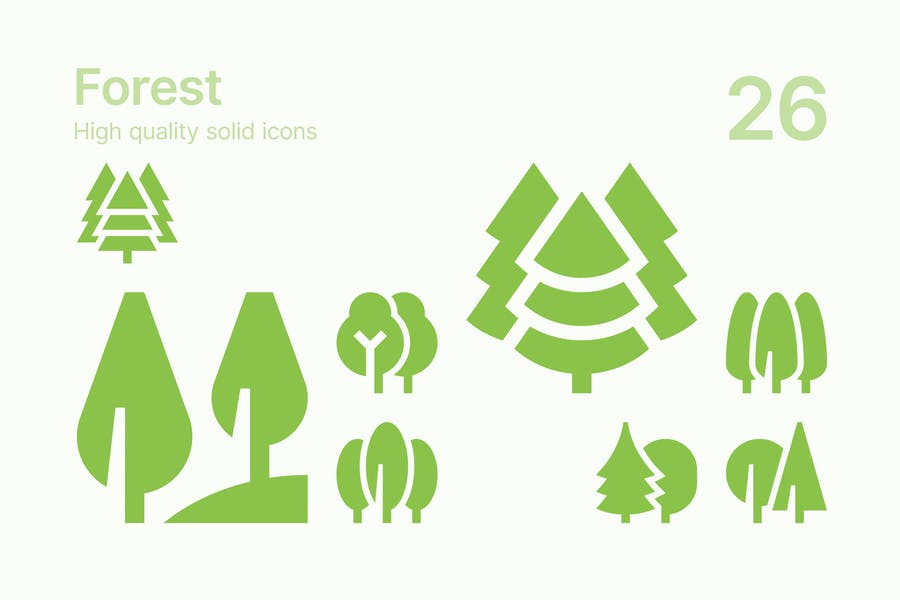 Forest Icons