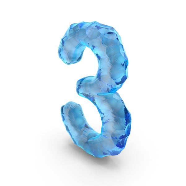 Ice Alphabet Number 3