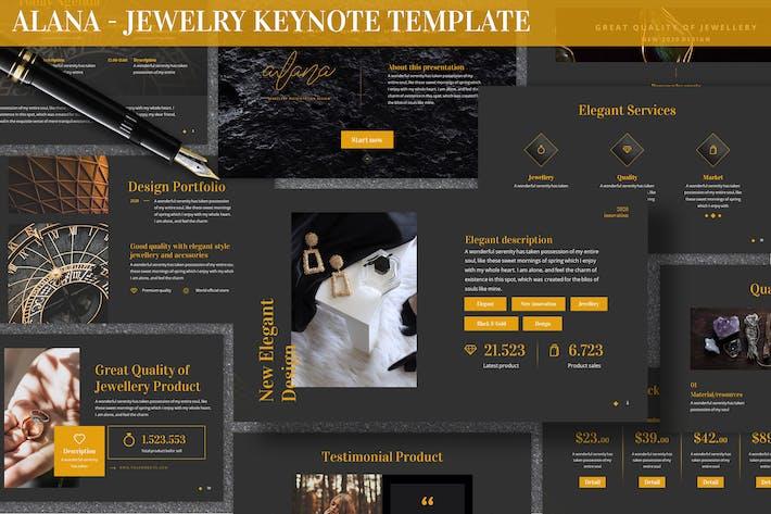Alana - Jewelry Keynote Template