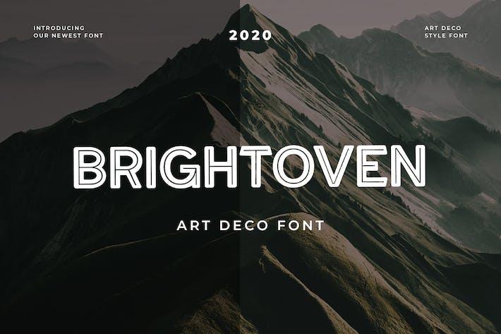 Thumbnail for Brightoven Sans Serif Display Font