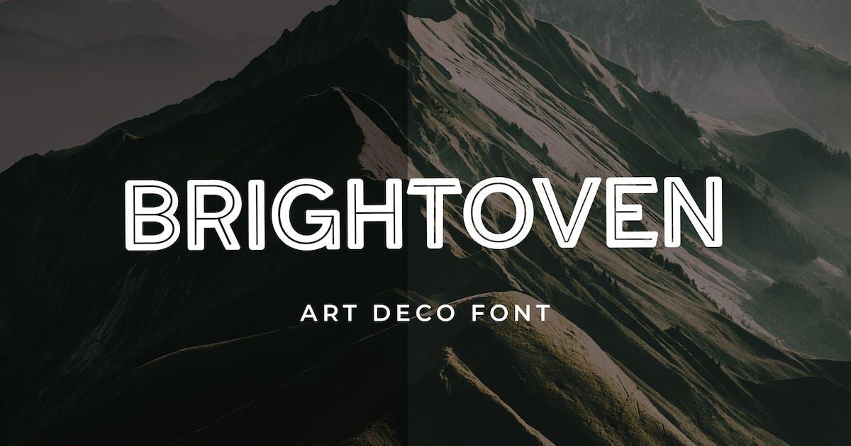 Download Brightoven Sans Serif Display Font by uicreativenet