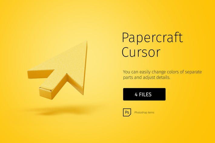 Thumbnail for Papercraft cursor