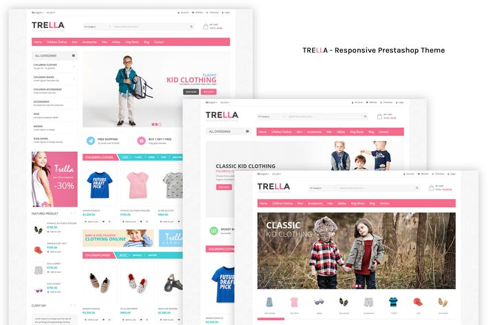 Thumbnail for SNS Trella - Responsive Prestashop Theme