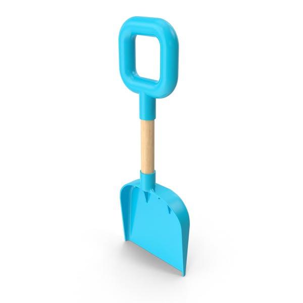 Пляжная лопата голубой