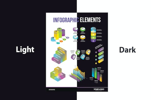 Infographic Examples for Designer V.65 - product preview 3