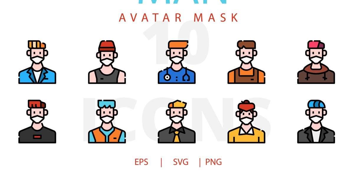 Download Man avatar mask by linector