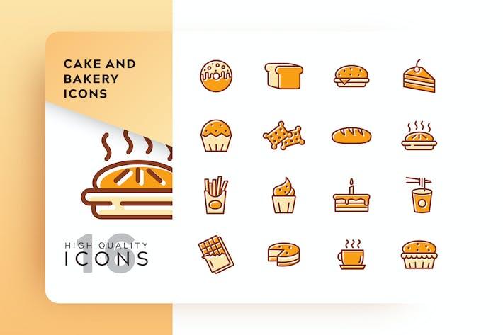 Thumbnail for AWR - Pastel y panadería, color relleno