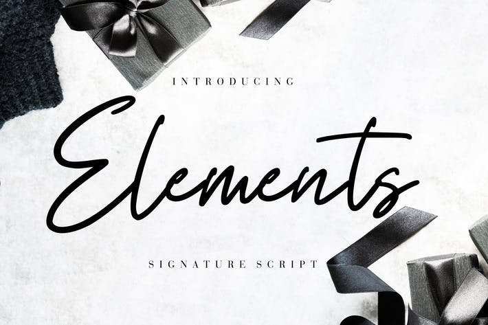 Thumbnail for Elements Signature Script