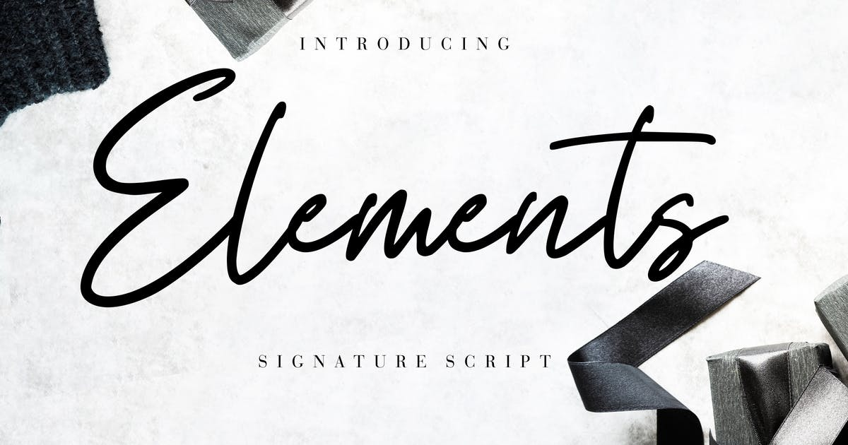 Download Elements Signature Script by RahardiCreative