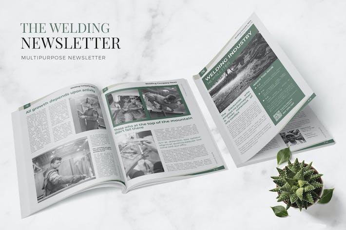 Thumbnail for Welding Industry Newsletter