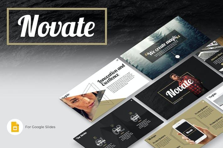 Thumbnail for Novate Google Slides Presentation Template