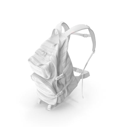 Camping Backpack White