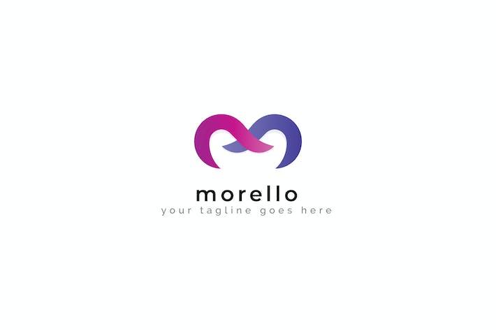 Cover Image For Morello - M letter Logo Template