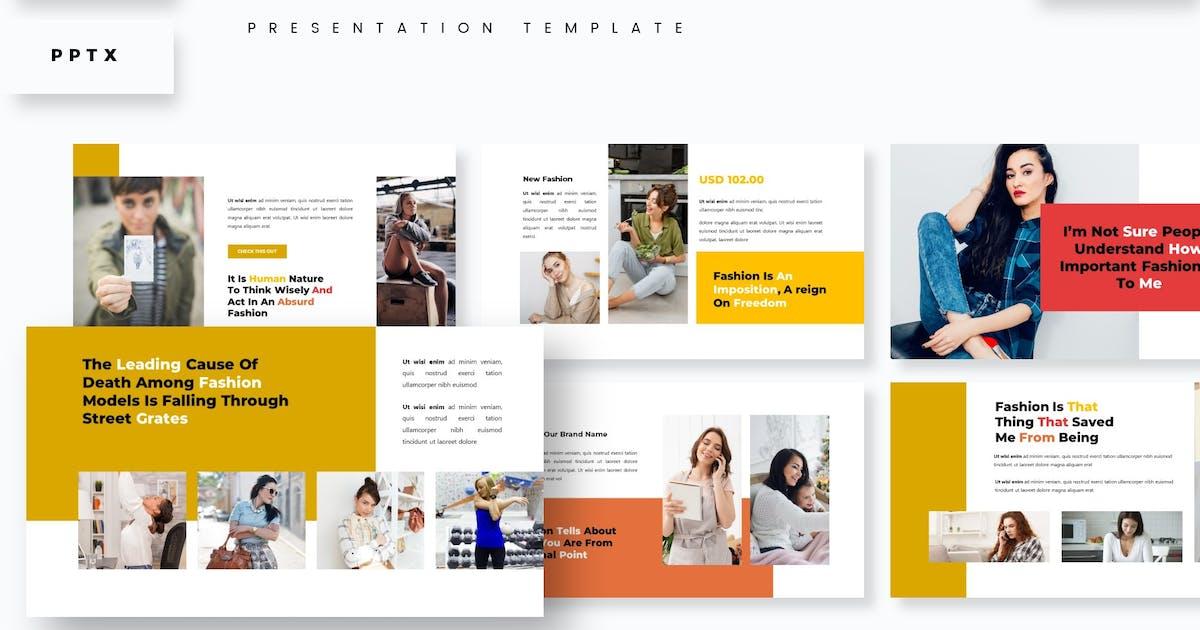 Download Fashiotake Presentation Template by aqrstudio