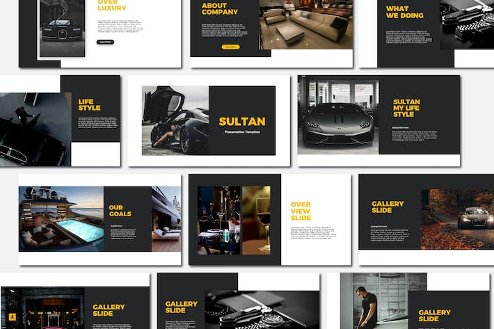 Thumbnail for Sultan - Powerpoint Templates