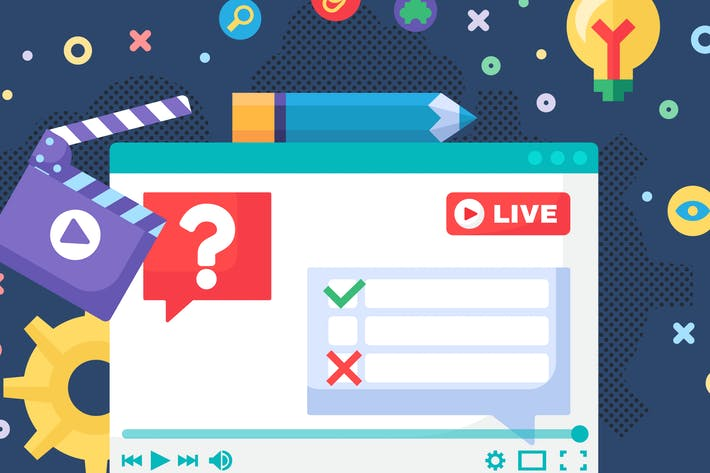 Thumbnail for Live Chat And Feedback Illustration