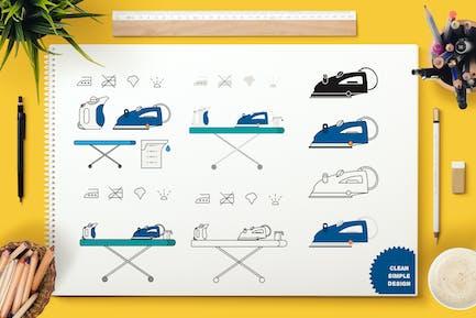 Iron Appliance Symbols