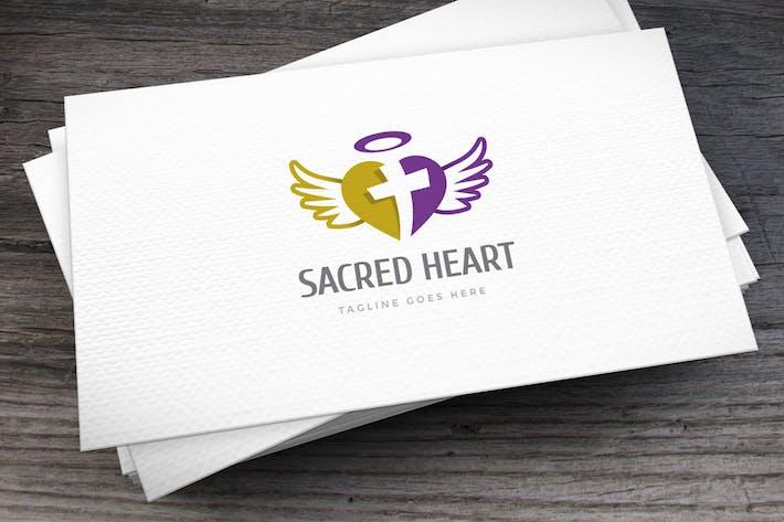 Thumbnail for Sacred Heart Logo Template