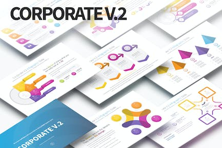 Corporate V.2 - PowerPoint Infographics Slides
