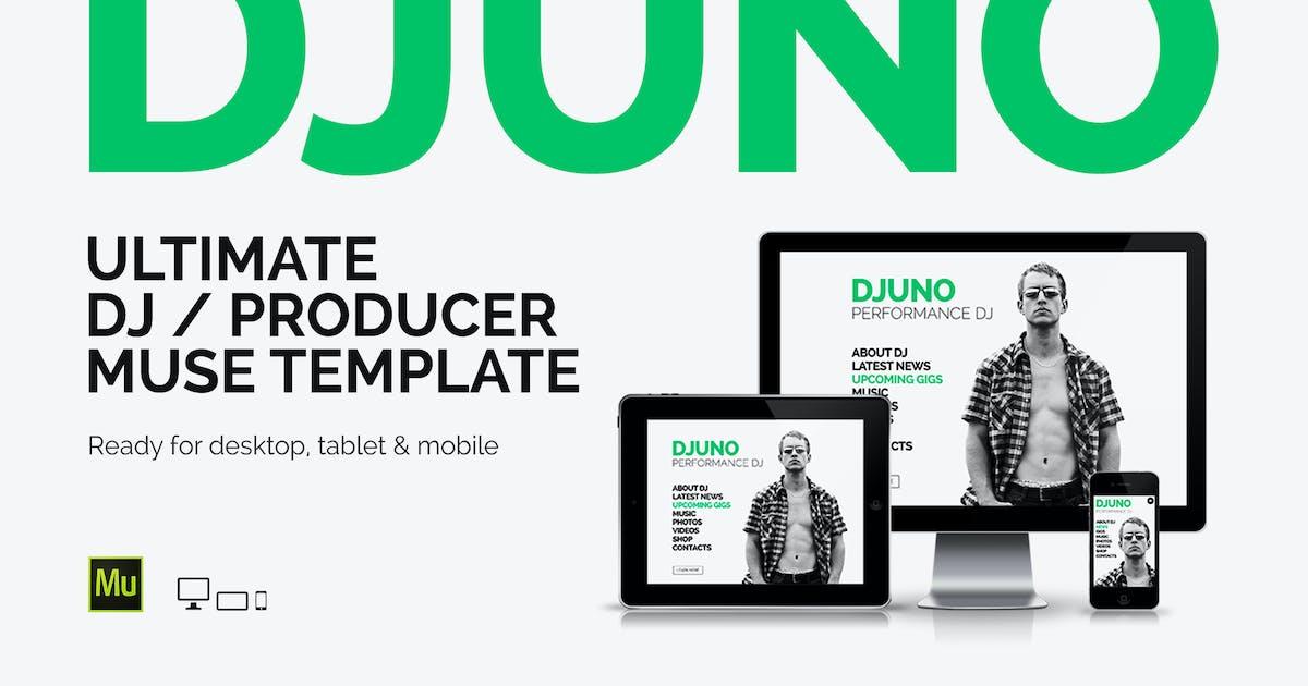 Download DJuno - DJ / Producer Website Muse Template by vinyljunkie