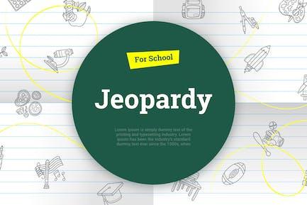 Jeopardy для школы Keynote