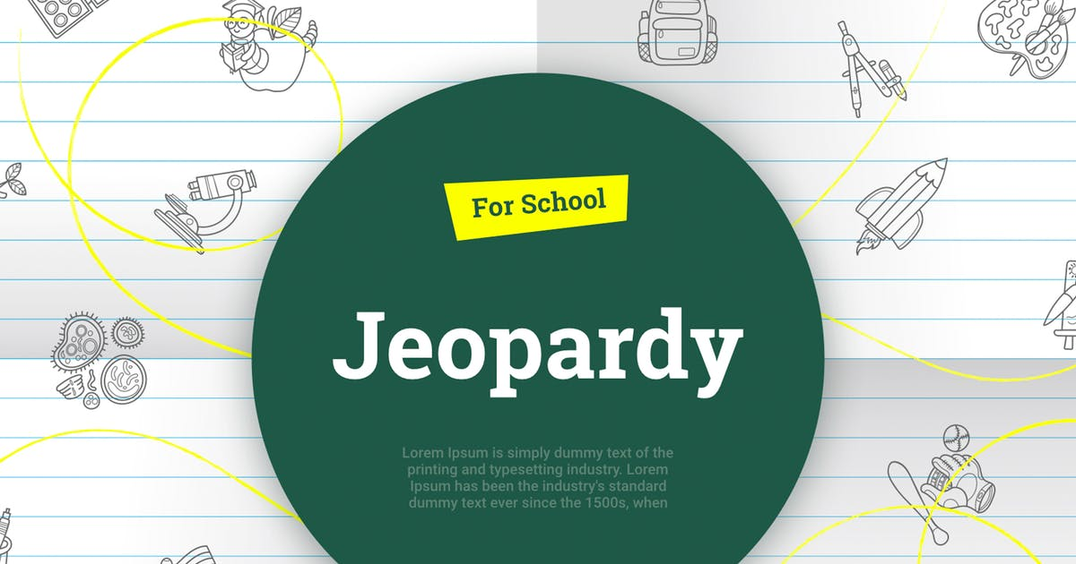Download Jeopardy for school Keynote by Site2max