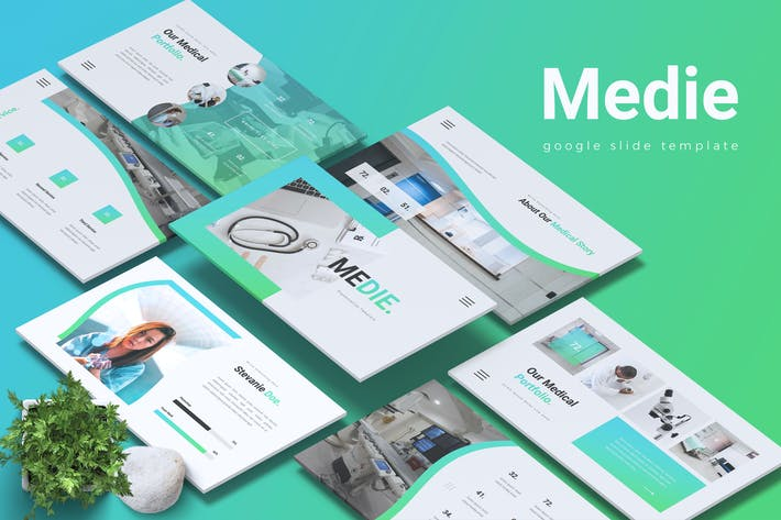 MEDIE - Medical Healthcare Google Slides Template