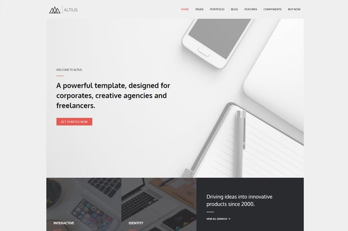 Thumbnail for Altius - Multi-Purpose WordPress Thema