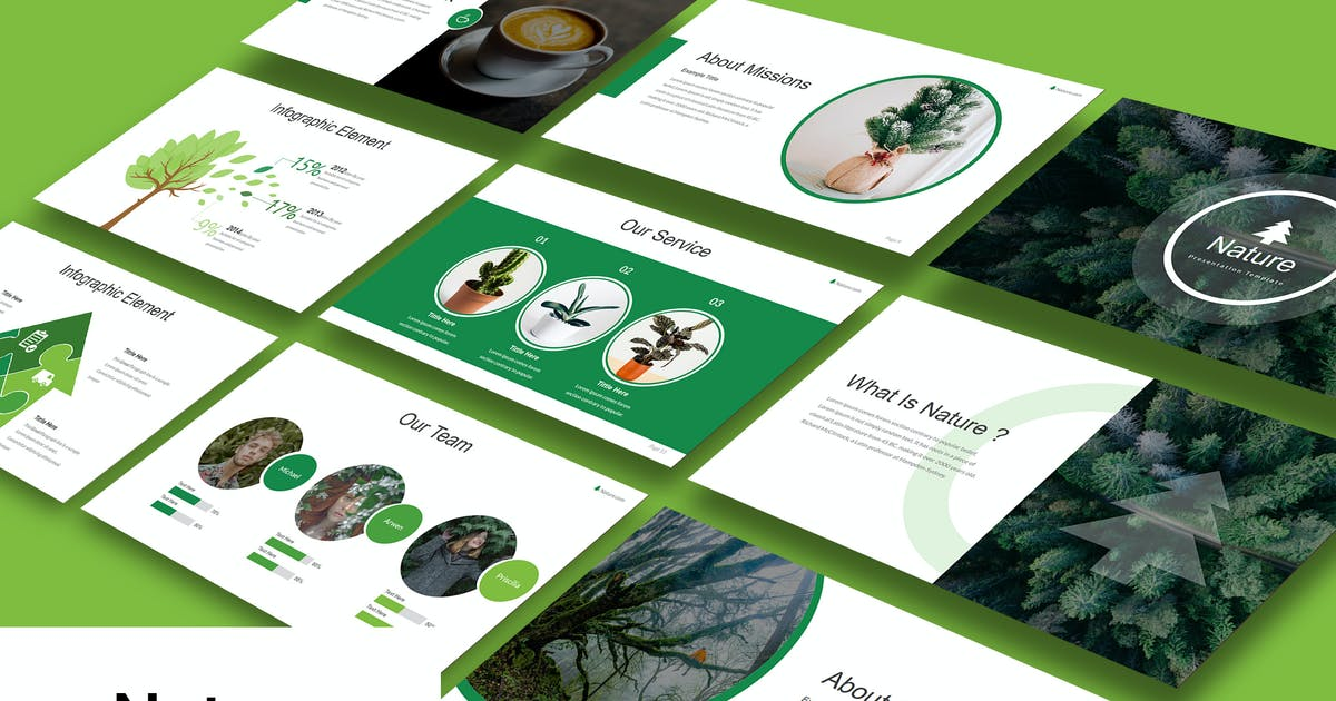 Download Nature Powerpoint by BadSyxn