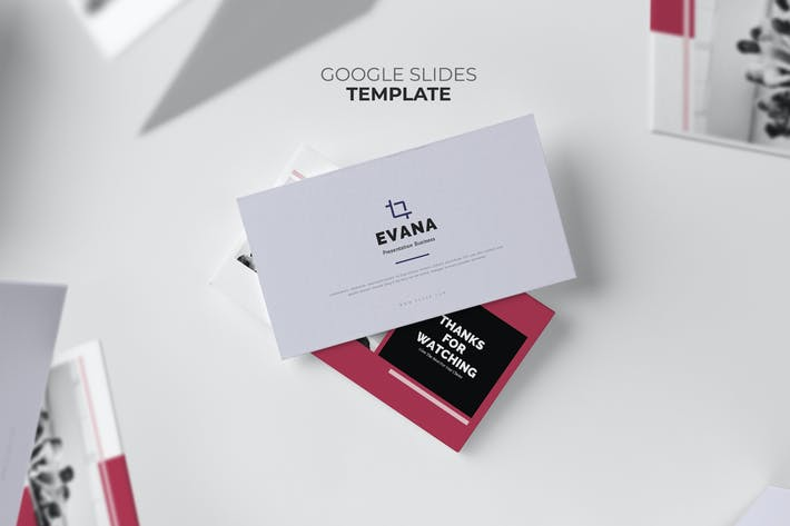 Thumbnail for Evana : Professional Marketing Clean Google Slides
