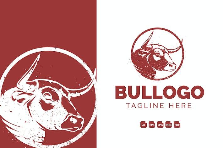 Thumbnail for Logo Vintage Bull Head