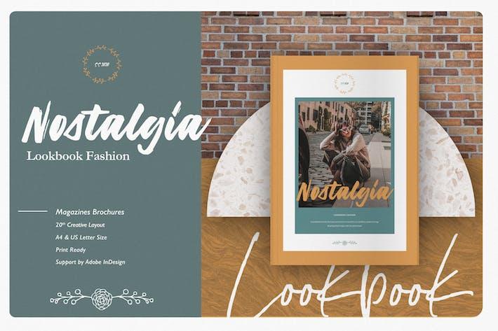 Thumbnail for Nostalgia Lookbook Fashion