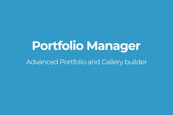 Cover Image For Portfolio Manager
