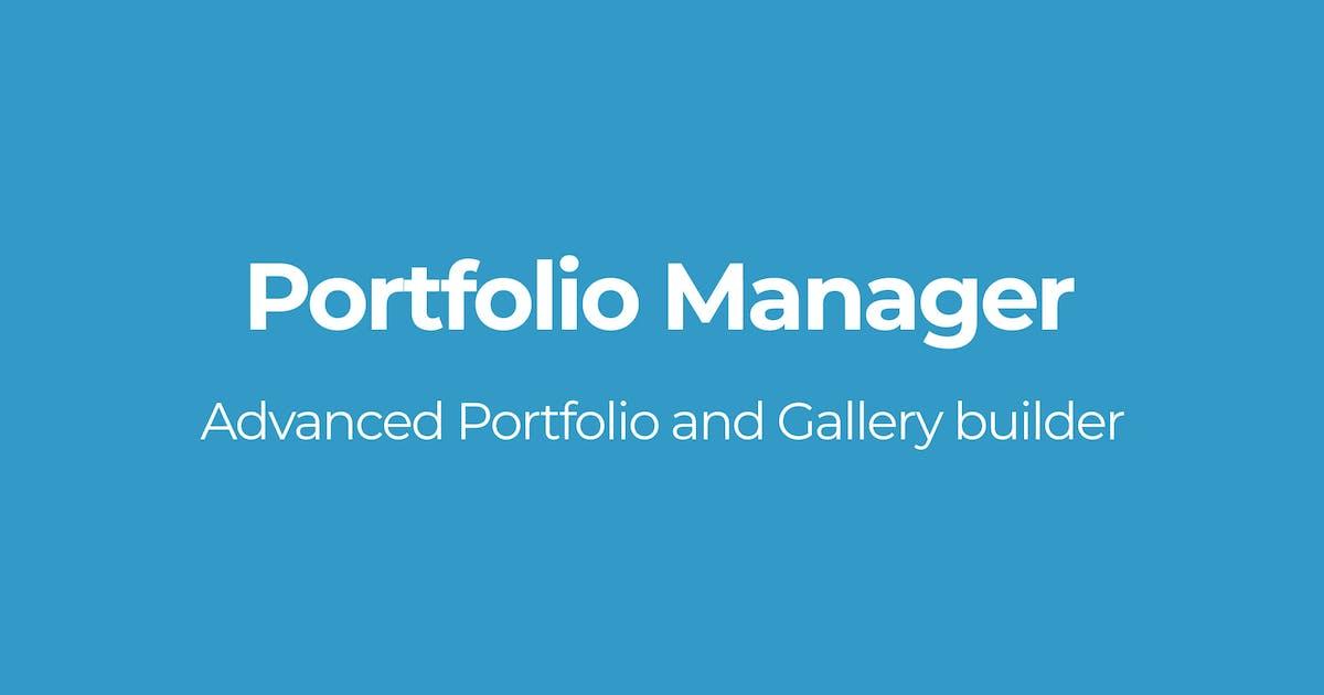 Portfolio Manager by OTWthemes