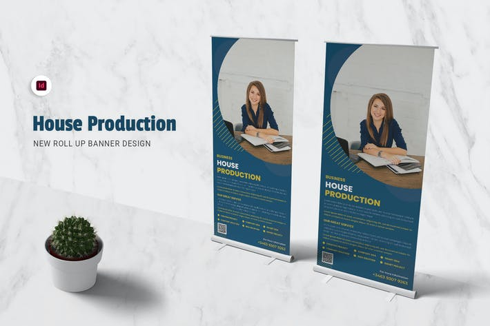 House Production Roll Up Banner
