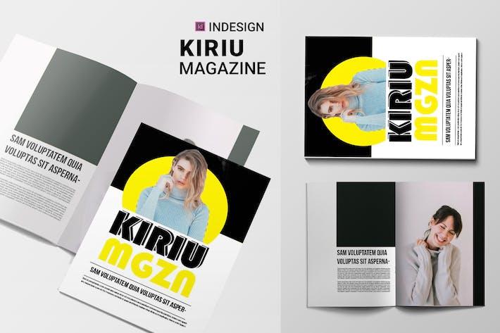 Cover Image For Kiriu | Magazine