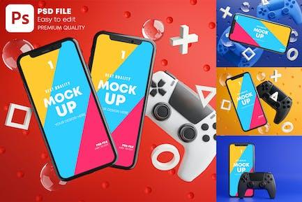 Gamepad für Smartphone-Gamepad
