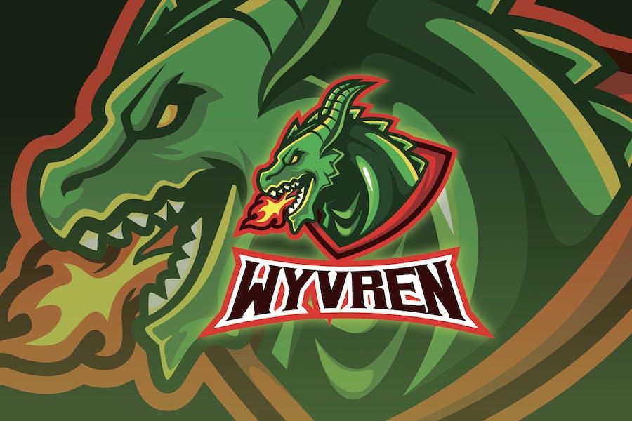 Wyvern Head Esport Logo