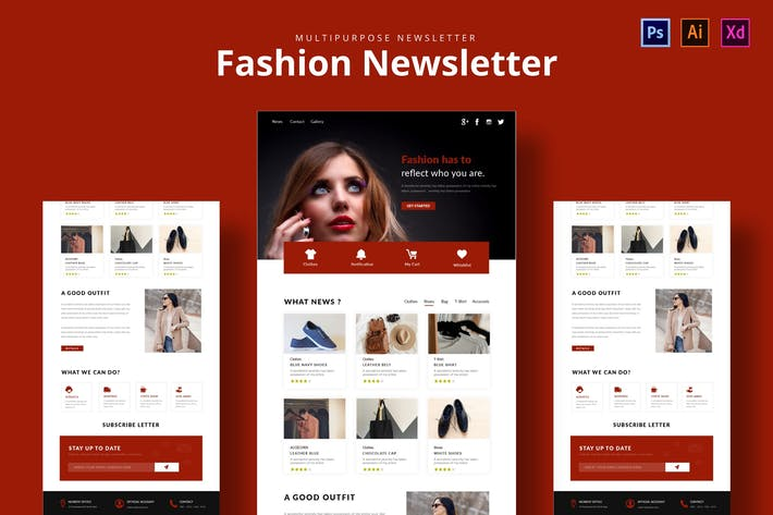 Thumbnail for Fashion Market Template