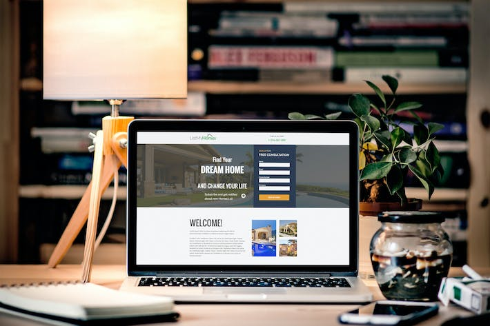 Cover Image For E- Marketing HTML Landing Page Templates