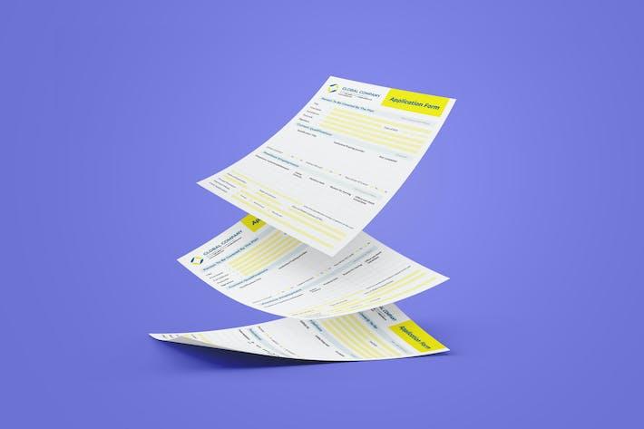 Conception du formulaire d'inscription d'assurance