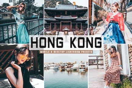 Hong Kong Mobile & Desktop Lightroom Presets