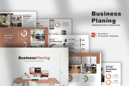 Business Planing - PowerPoint Template
