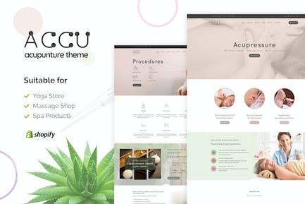 Accu   Shopify магазин товаров медицинского назначения Тема