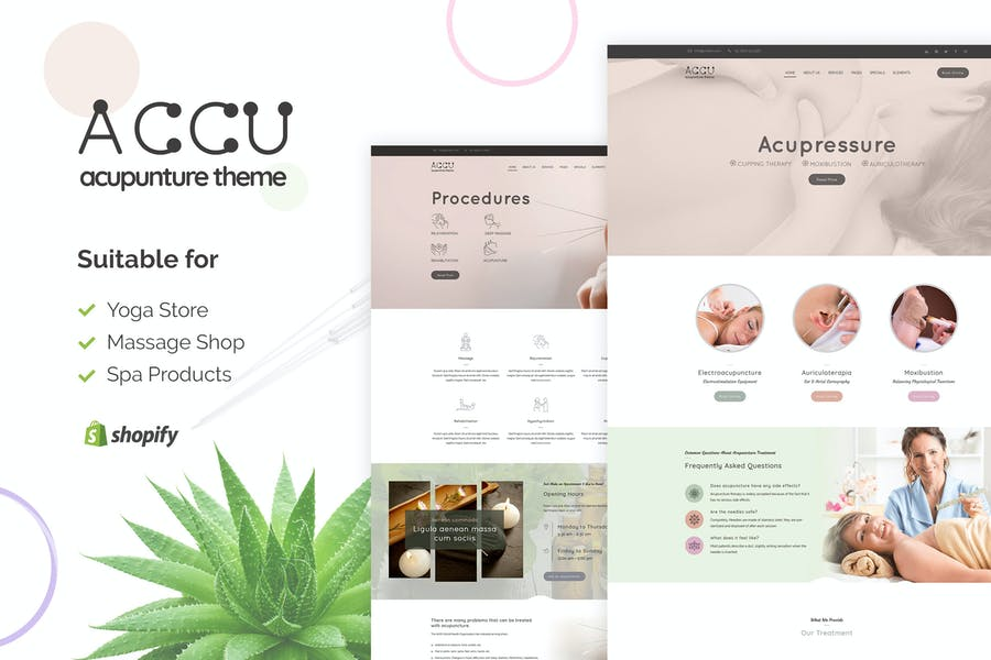 Accu | Shopify Medical Supplies Store Theme