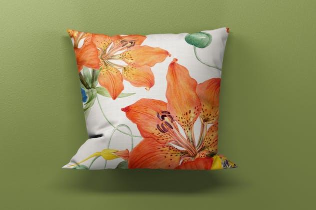 9 Cushion Mockup Set