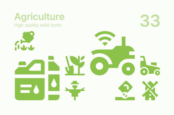 Thumbnail for Agriculture Icons
