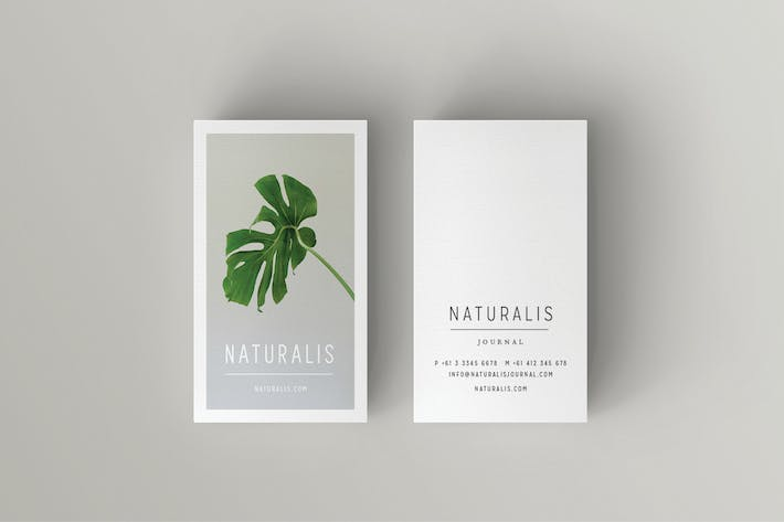 Thumbnail for NATURALIS Business Card